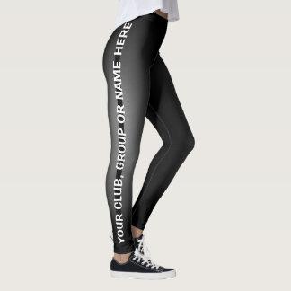 Personalize suas próprias caneleiras feitas sob leggings
