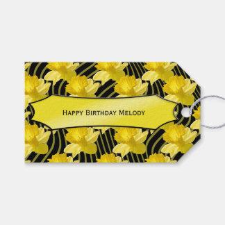"""Personalize:  """"Tag do presente dos Daffodils do"""