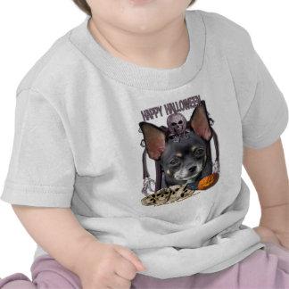 Pesadelo do Dia das Bruxas - chihuahua - Isabella T-shirt