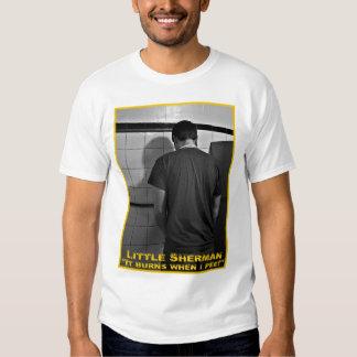 Pesares pequenos de Sherman Camiseta