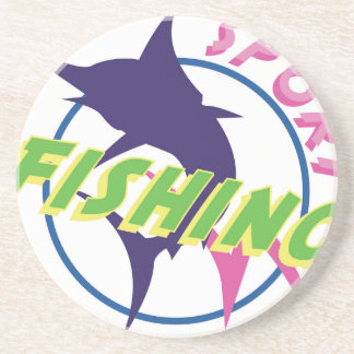 Pesca desportiva porta copos de arenito