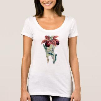 Pescoço da colher da ORQUÍDEA (Cypripedium Camisetas