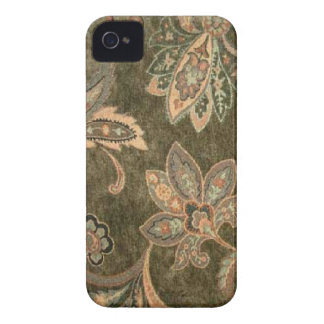 Pêssego Paisley prudente Blackberry-Bold-9700-9780 Capinha iPhone 4