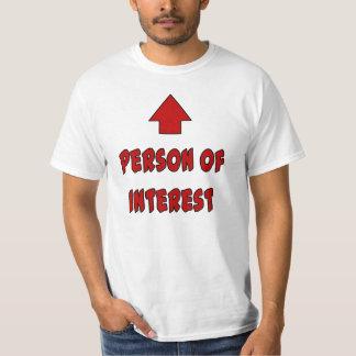 Pessoa do interesse t-shirt