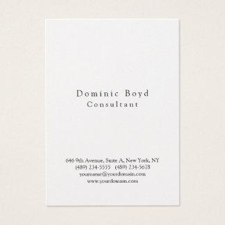 Pessoal moderno à moda profissional original cartão de visitas