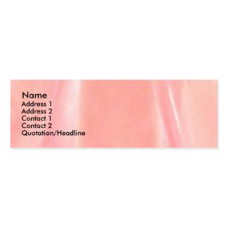 Pétala cor-de-rosa de Kamasutra Cartoes De Visitas