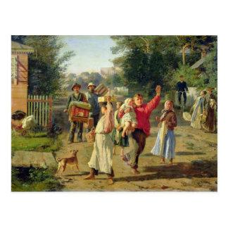 Petrushka está vindo, 1888 cartão postal
