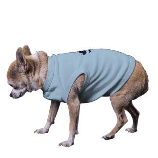 petshirt engraçado camisa sem mangas para cachorro