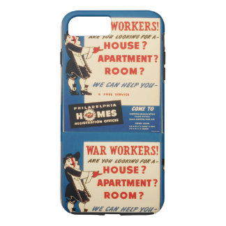 Philadelphfia pode ajudar trabalhadores da guerra capa iPhone 7 plus