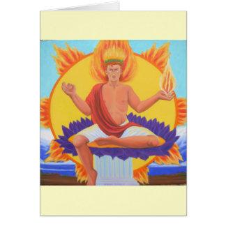 Phoebus Apollo Cartão Comemorativo