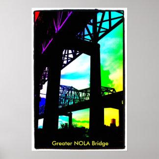 photo-9, maior ponte de NOLA Poster