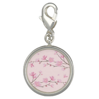Photo Charms Flor de cerejeira - rosa
