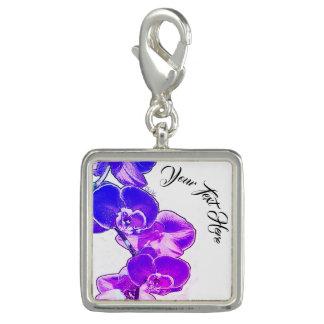 Photo Charms Orquídeas personalizadas