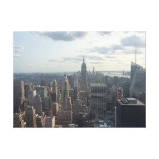 Photography of Nova Iorque City Impressão Em Tela