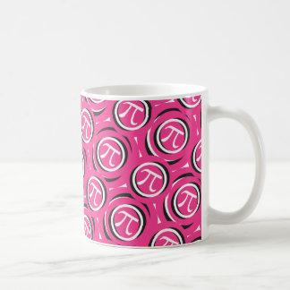 Pi cor-de-rosa - Presente da caneca do dia do Pi