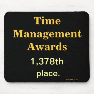 Piada engraçada Mousepad da gestão de tempo