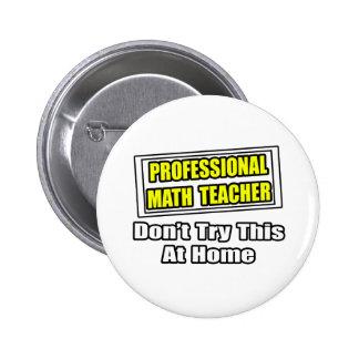 Piada profissional do professor de matemática… pins