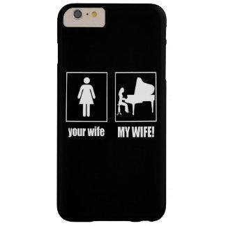 PIANISTA - MINHA ESPOSA CAPA BARELY THERE PARA iPhone 6 PLUS