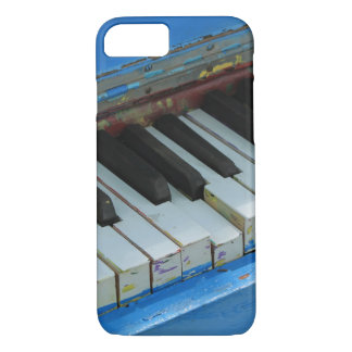 Piano azul capa iPhone 8/7