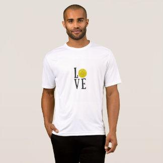 Pickleball - t-shirt do esporte do desempenho dos
