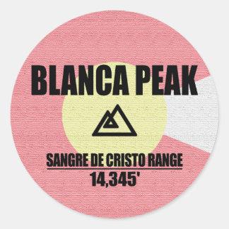Pico do BLANCA Adesivo