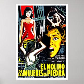 Piedra do EL Molino de las mujeres de Poster