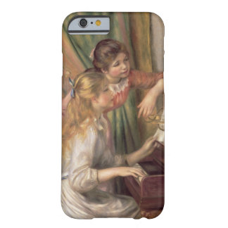 Pierre raparigas de Renoir um | no piano Capa Barely There Para iPhone 6