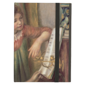 Pierre raparigas de Renoir um | no piano Capa Para iPad Air