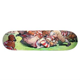 Pilha do cão na grelha shape de skate 18,1cm