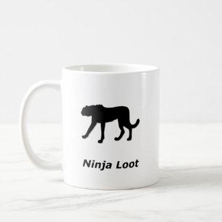 Pilhagem de Ninja da chita Caneca De Café