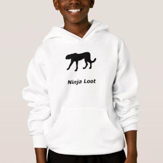 Pilhagem de Ninja da chita Tshirt