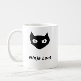 Pilhagem de Ninja da vaia do gato Caneca De Café