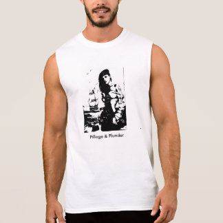 Pilhagem e pilhagem camisas sem mangas