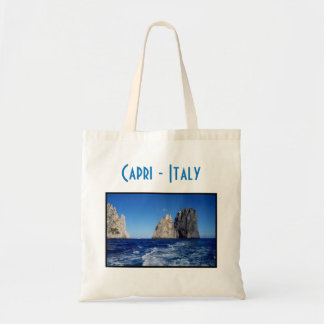 Pilhas de Faraglioni, ilha de Capri - Nápoles - Bolsa Tote