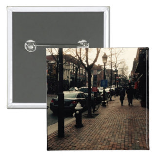 Pin da foto da rua de Alexandria Bóton Quadrado 5.08cm