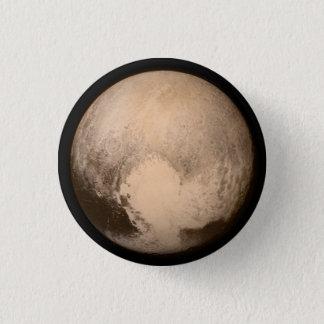 Pin de Pluto Bóton Redondo 2.54cm