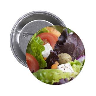 Pin fresco da salada bóton redondo 5.08cm