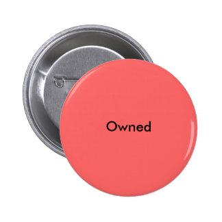 Pin possuído botons