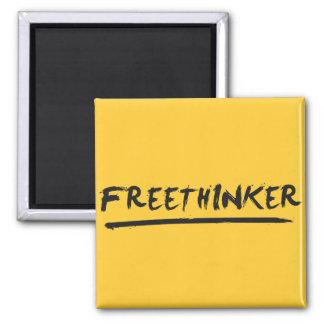 Pincel do Freethinker Ímã Quadrado