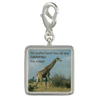Pingente Corredor do girafa