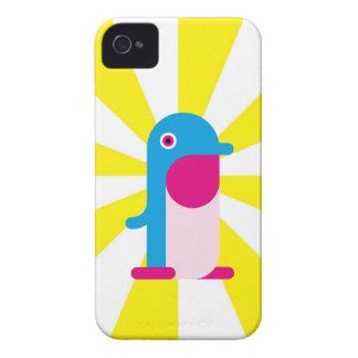 Pinguim azul capas de iPhone 4 Case-Mate
