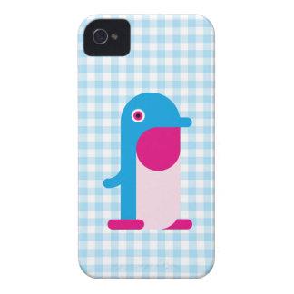 Pinguim azul iPhone 4 capas