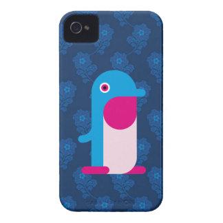 Pinguim azul capa de iPhone 4 Case-Mate