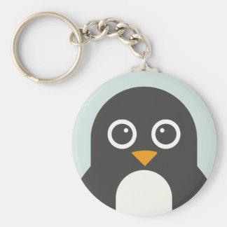 Pinguim bonito chaveiro