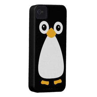 Pinguim bonito do vetor capas iPhone 4 Case-Mate