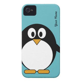 Pinguim bonito dos desenhos animados - cobrir de capinhas iPhone 4