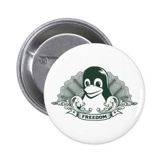 Pinguim de Tux - (Linux, Open Source, Copyleft, FS Pins