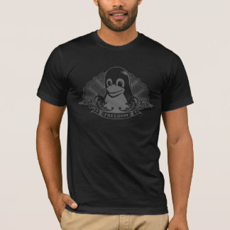 Pinguim de Tux - (Linux, Open Source, Copyleft, Tshirt