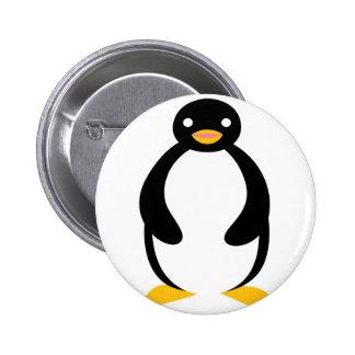 Pinguim simples carnudo bonito boton