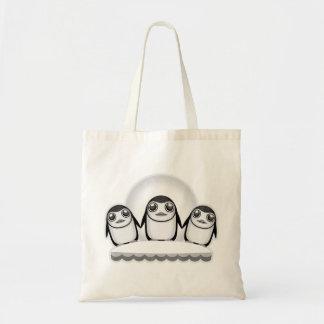 Pinguins Bolsa Tote